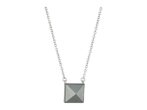 Vera Bradley Casual Glam Pendant Necklace - Silver Tone