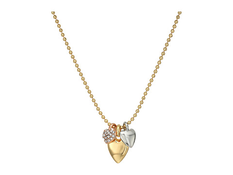 Vera Bradley Stylist Heart Necklace - Gold Tone