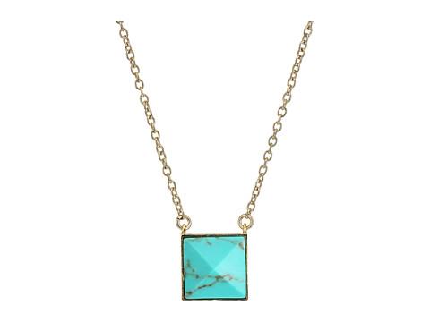 Vera Bradley Casual Glam Pendant Necklace - Gold Tone
