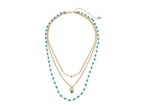 Vera Bradley Stylist Necklace Set - Gold Tone