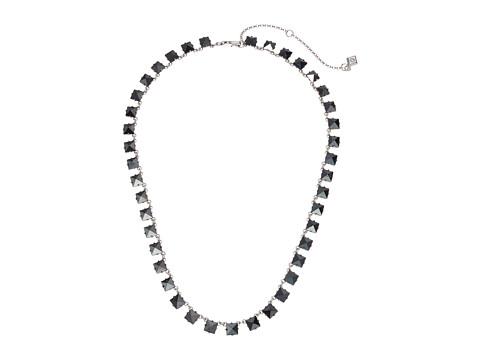 Vera Bradley Casual Glam Station Necklace - Silver Tone