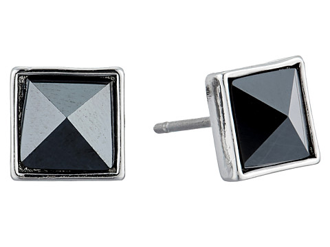 Vera Bradley Casual Glam Stud Earrings - Silver Tone