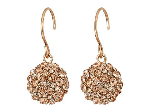 Vera Bradley Radiant Fireball Drop Earrings - Rose Gold Tone