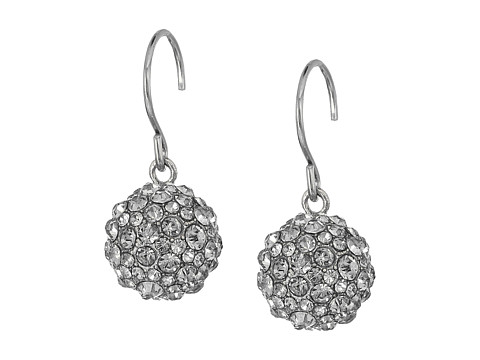 Vera Bradley Radiant Fireball Drop Earrings - Silver Tone