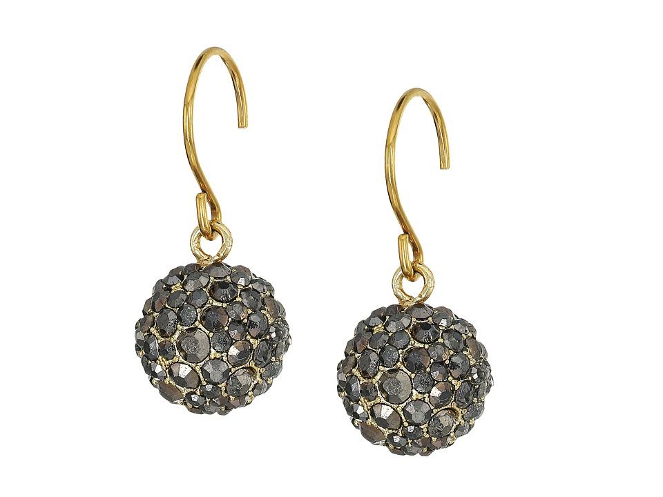 Vera Bradley - Radiant Fireball Drop Earrings (Gold Tone) Earring