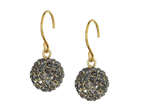 Vera Bradley Radiant Fireball Drop Earrings - Gold Tone