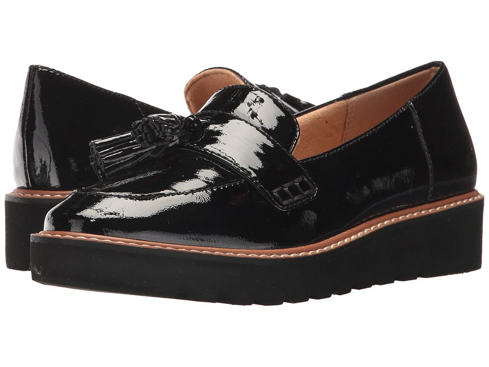 Naturalizer August (Black Patent Leather) Slip-On Shoes