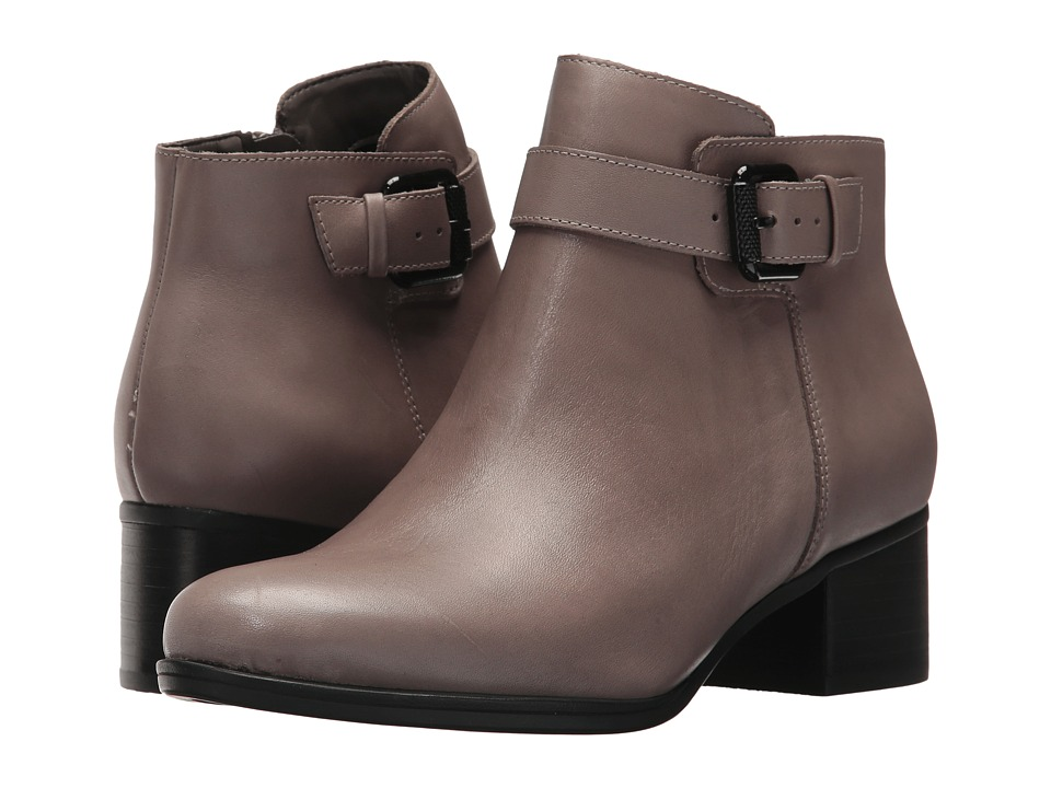 Naturalizer - Dora (Modern Grey Leather) Women's Pull-on Boots
