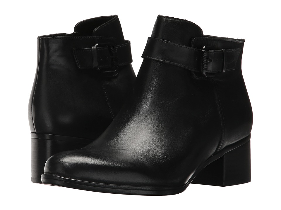 Naturalizer Dora (Black Leather) Women's Pull-on Boots