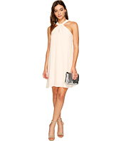 1.STATE - Halter Neckline Shift Dress
