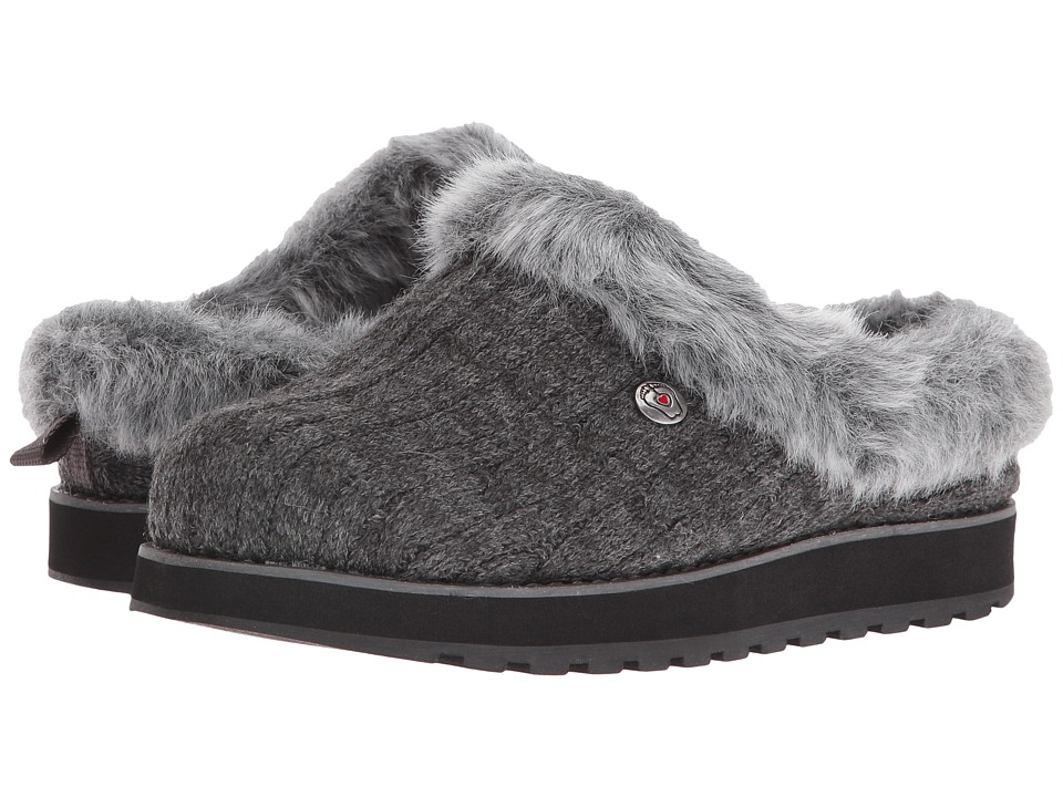 BOBS from SKECHERS Keepsakes - Ice Angel (Charcoal) Slip-On Shoes