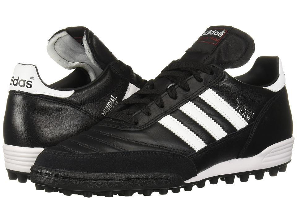 adidas - Mundial Team (Black/White) Soccer Shoes