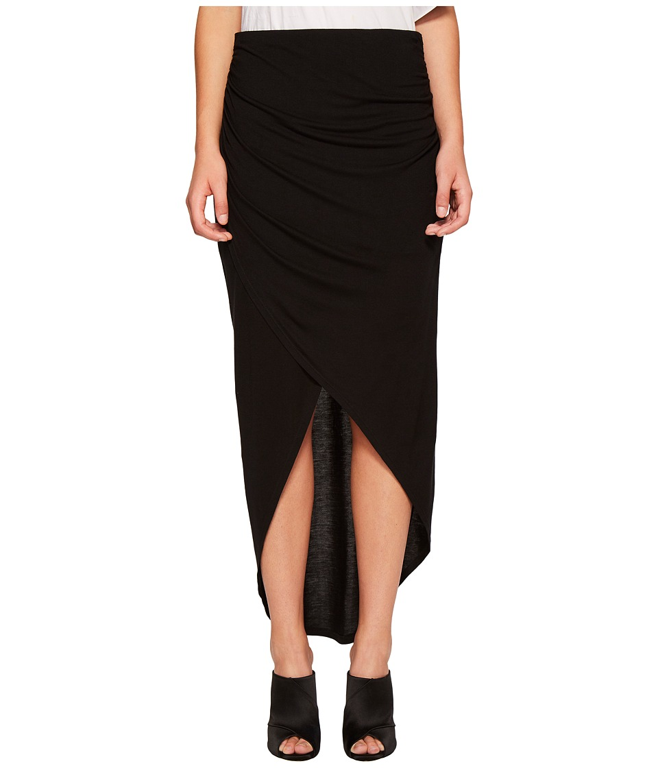 1.STATE - Wrap Front High-Low Skirt