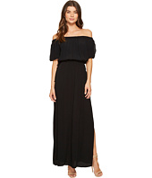 1.STATE - Off Shoulder Maxi w/ Drawstring