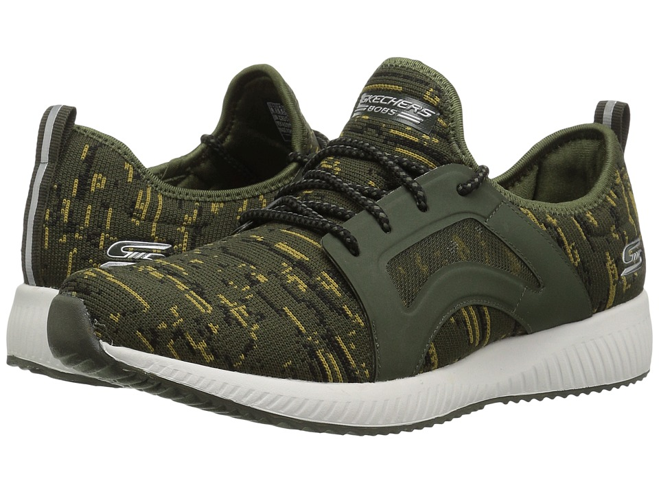 BOBS from SKECHERS Bobs Squad Double (Olive) Women