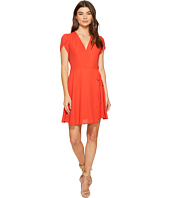 1.STATE - Wrap Front Dress w/ Tie