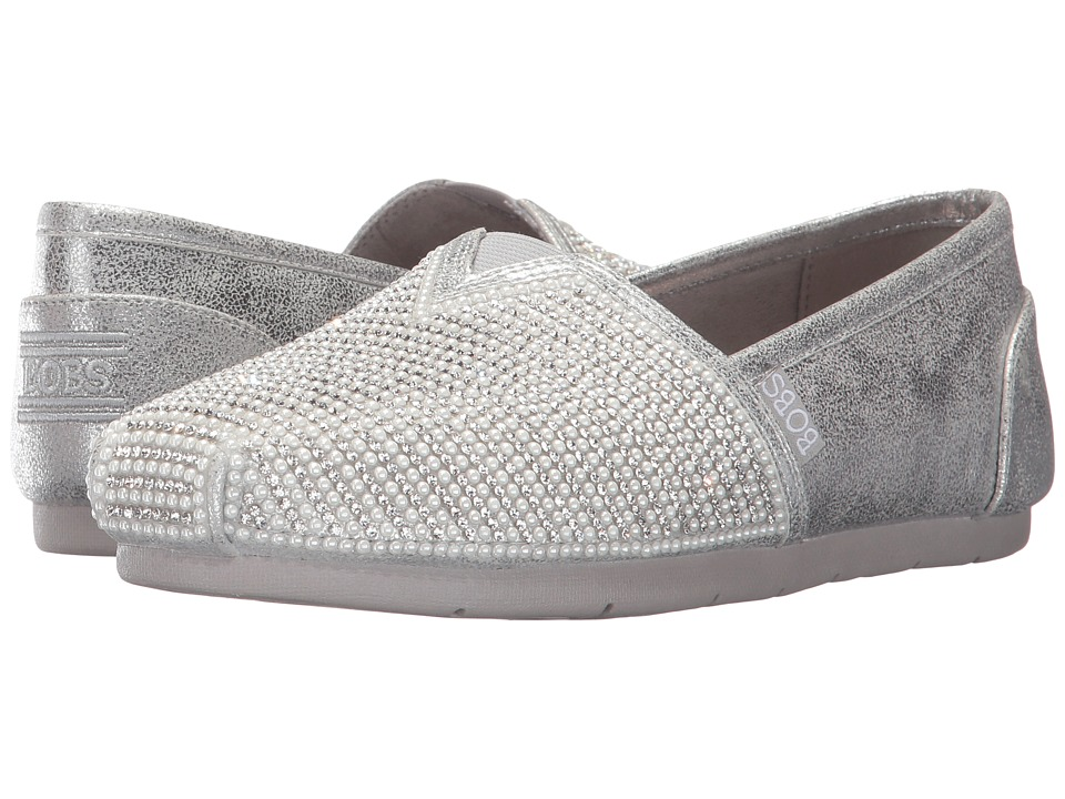 BOBS from SKECHERS Luxe Bobs Big Dreamer (Silver) Women