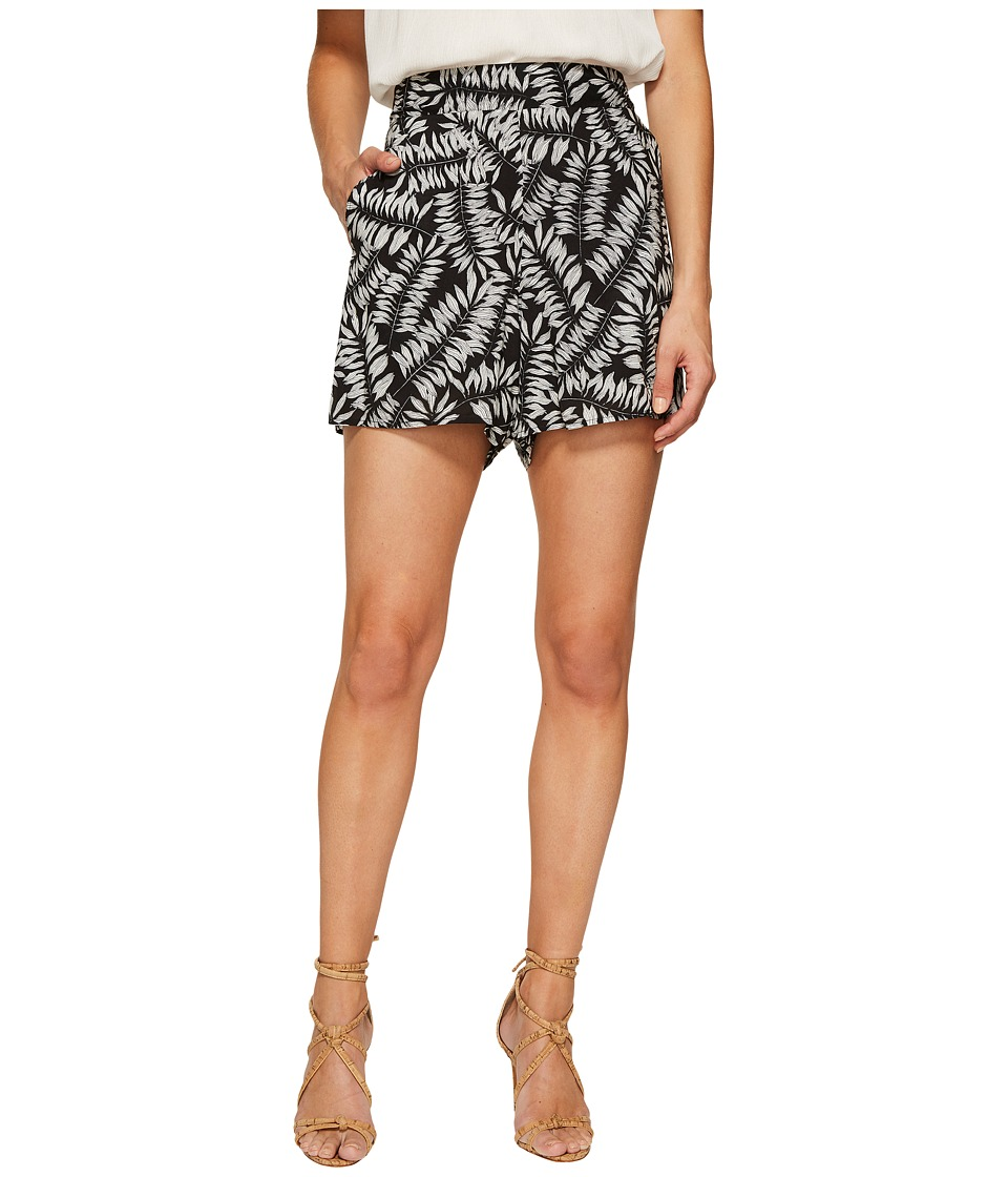 1.STATE - Flat Front Printed Shorts
