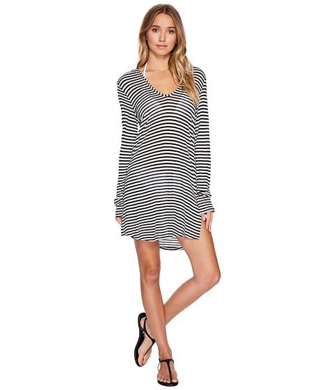 Splendid Itsy Ditsy Floret Hoodie Tunic Cover-Up