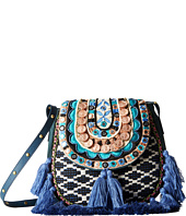 Steven - Jtiva Embellished Fabric Saddle Bag