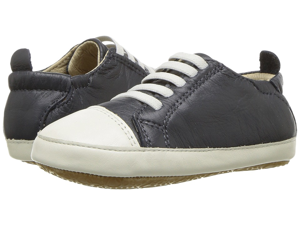 Old Soles Eazy Jogger (Infant/Toddler) (Navy/White) Boy's Shoes