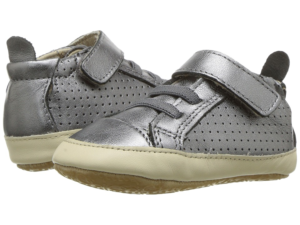 Old Soles Cheer Bambini (Infant/Toddler) (Rich Silver/Champagne) Boy's Shoes
