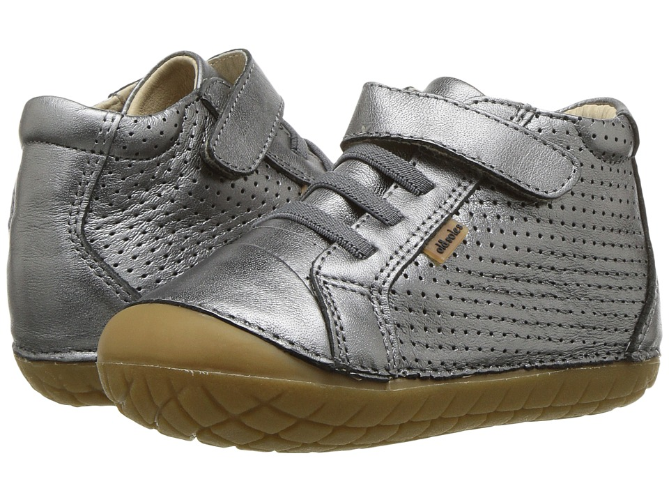 Old Soles Pave Cheer (Infant/Toddler) (Rich Silver) Boy's Shoes