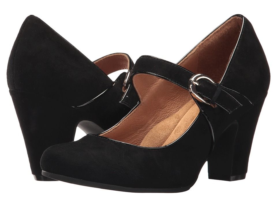Sofft Miranda (Black King Suede) High Heels