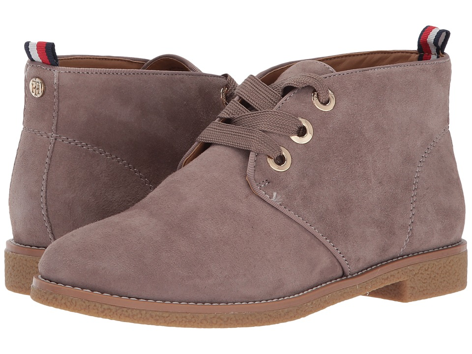 Tommy Hilfiger Balbina (Taupe Suede) Women