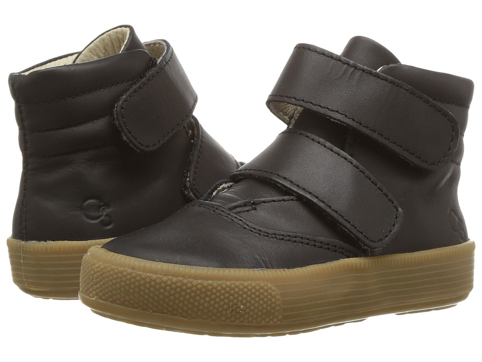 Old Soles Space Shoe (Toddler/Little Kid) (Distressed Black) Boy's Shoes