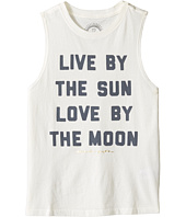 Spiritual Gangster Kids - Live and Love Muscle Tank Top (Big Kids)