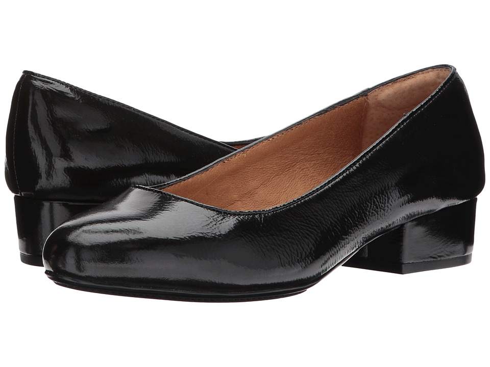 Sofft - Belicia (Black Soft Charme Luxe Patent) Womens Clog Shoes
