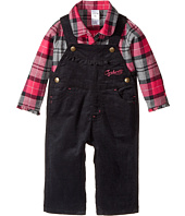 Carhartt Kids - Pretty Plaid Overalls Set (Infant)