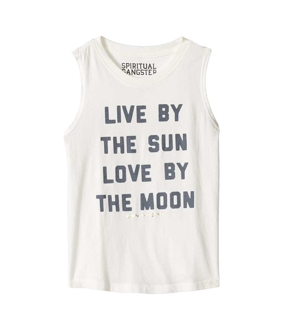 Spiritual Gangster Kids - Live and Love Muscle Tank Top