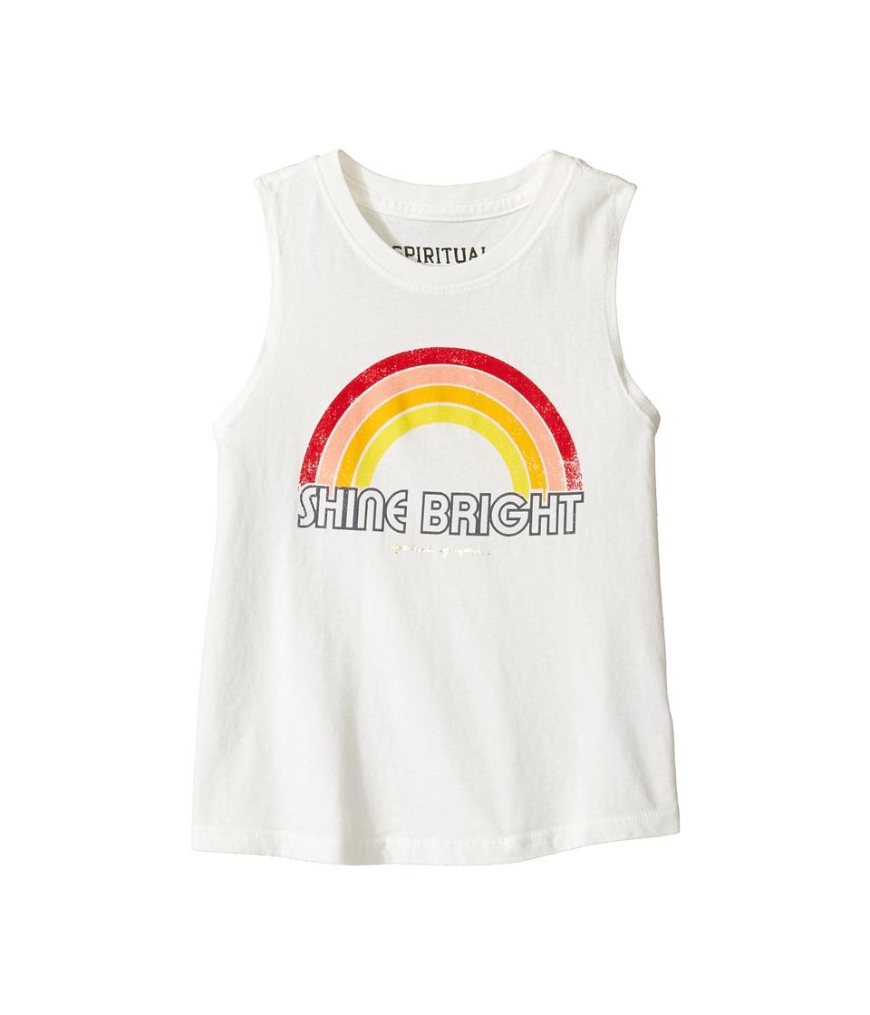 Spiritual Gangster Kids - Retro Rainbow Muscle Tank Top