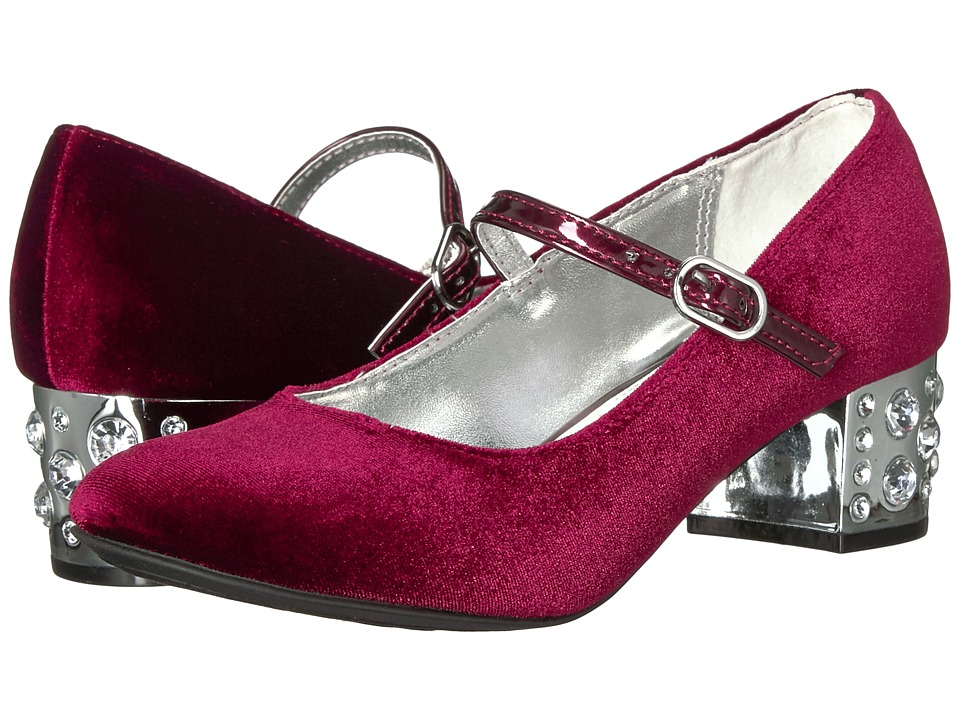 Nina Kids Darlene (Little Kid/Big Kid) (Burgundy) Girl's Shoes