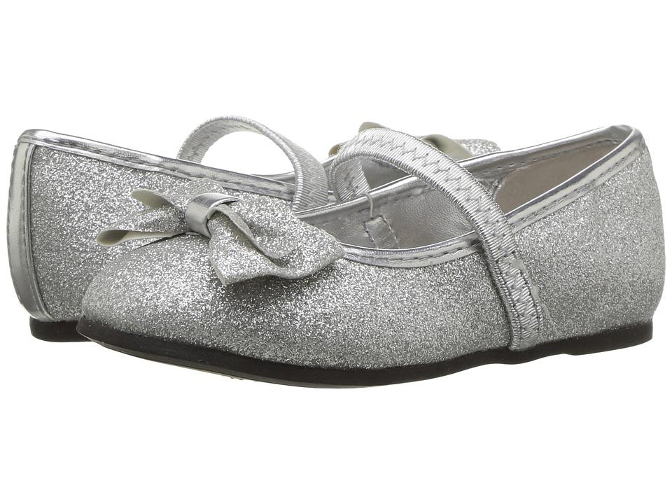 Nina Kids Grace-T (Toddler/Little Kid) (Silver) Girl's Shoes