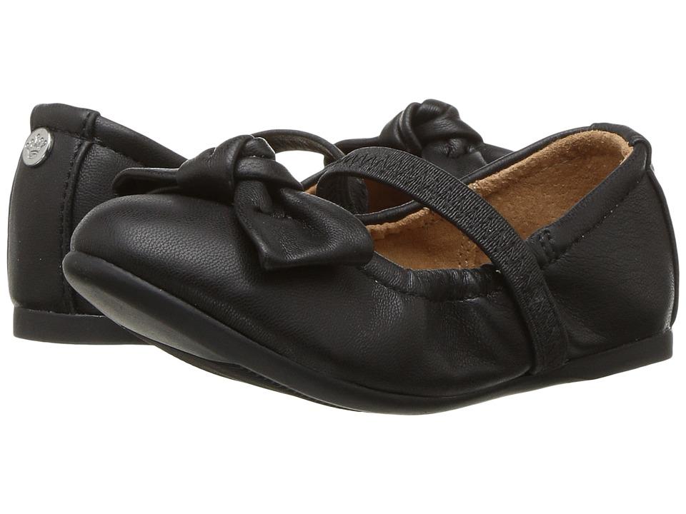 Nina Kids Karla-T (Toddler/Little Kid) (Black Smooth) Girl's Shoes