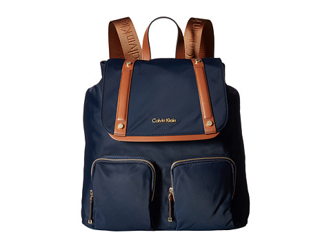 Calvin Klein Teodora Nylon Backpack - Navy