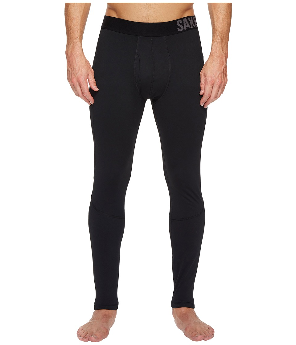 SAXX UNDERWEAR Thermo-Flyte Tights Fly (Black) Men