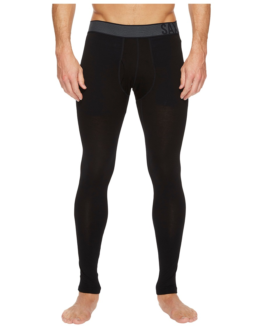 SAXX UNDERWEAR Blacksheep 2.0 Tights Fly (Black Heather) Men