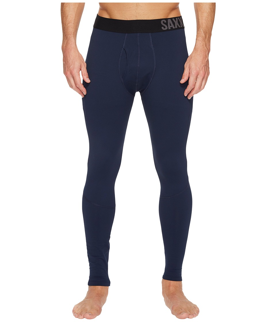 SAXX UNDERWEAR Thermo-Flyte Tights Fly (Navy) Men