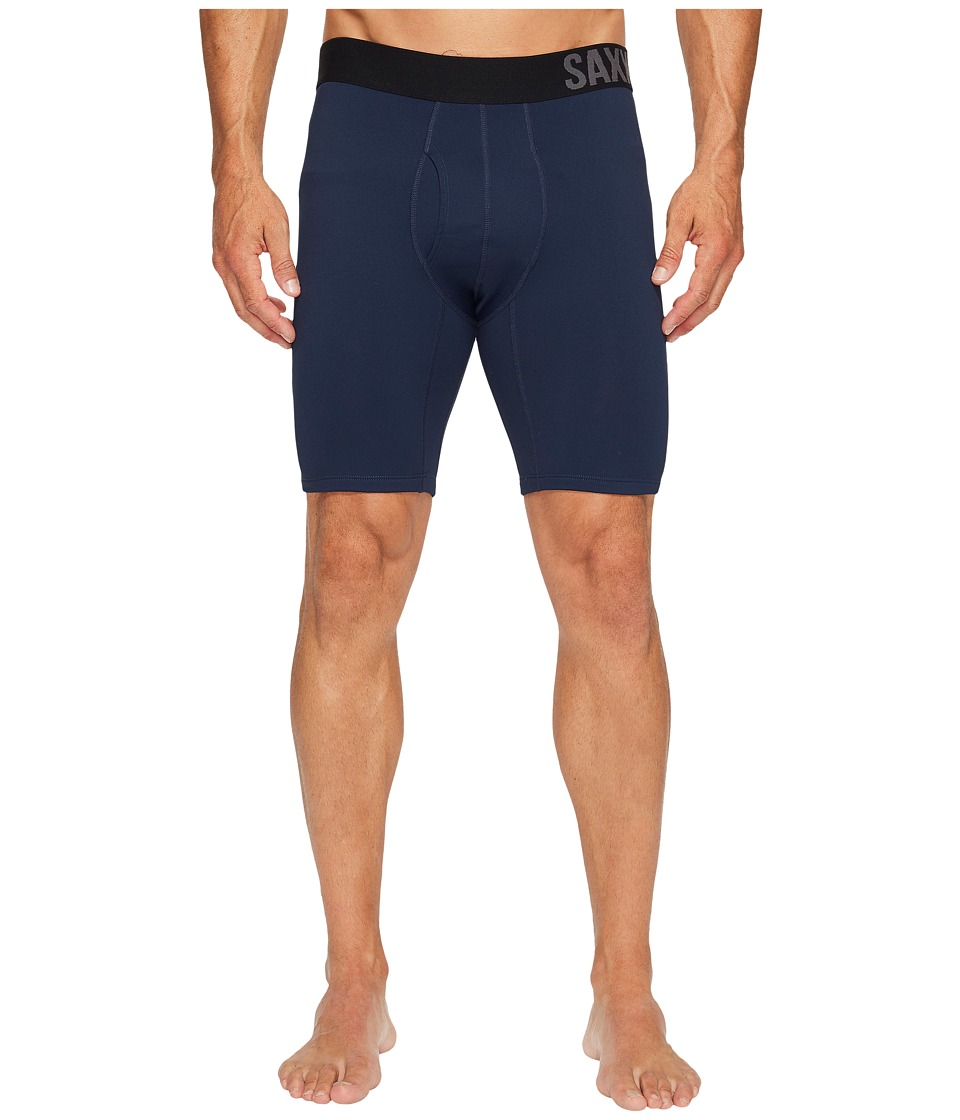 SAXX UNDERWEAR Thermo-Flyte Long Leg Fly (Navy) Men