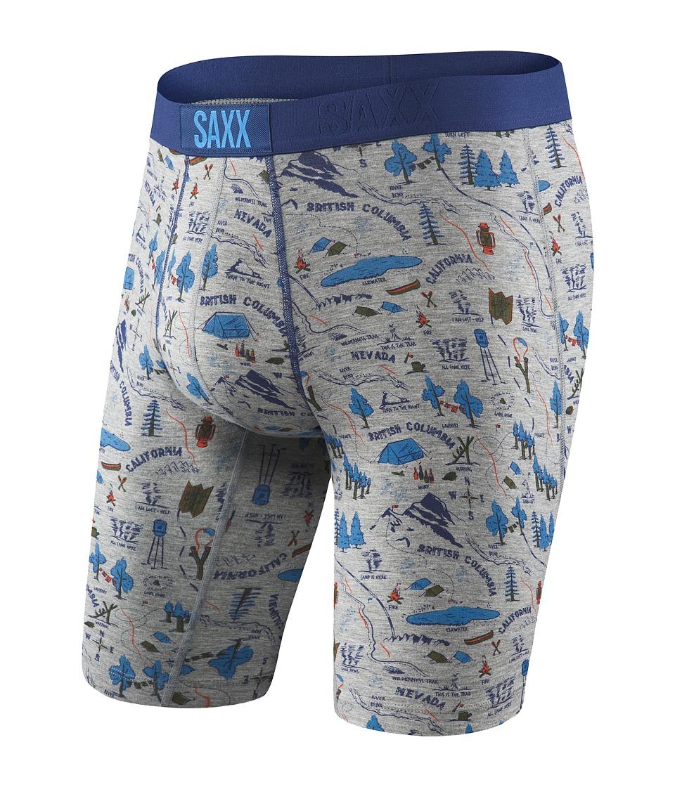 SAXX UNDERWEAR Vibe Long Leg Modern Fit (Lost Lake) Men
