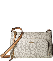Calvin Klein - Key Item Monogram Multi Entry Crossbody