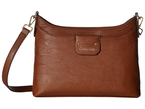 Calvin Klein Unlined Novelty Crossbody - Luggage
