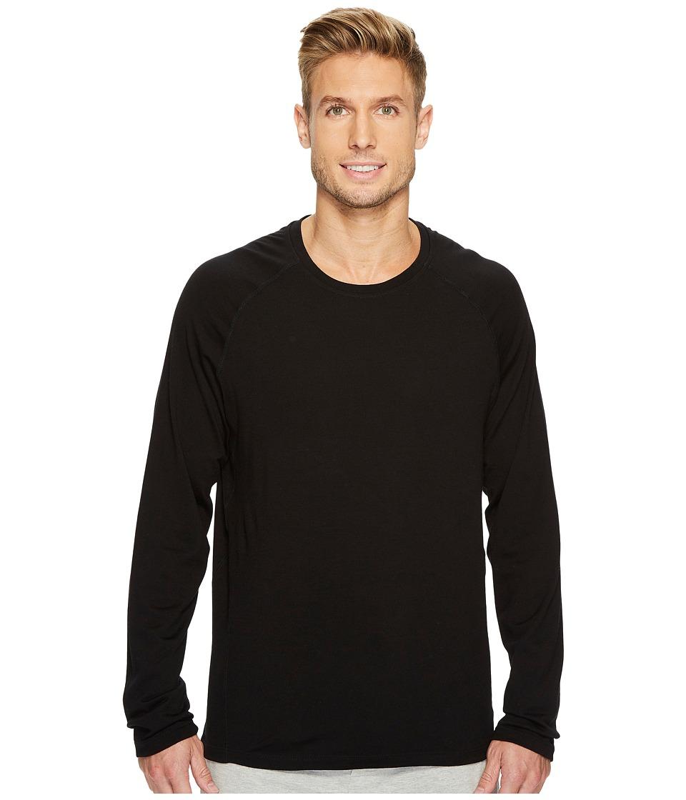 SAXX UNDERWEAR Blacksheep 2.0 Long Sleeve Top (Black Heather) Men