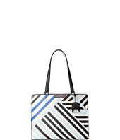 Calvin Klein - Lola Saffiano Geometric Satchel