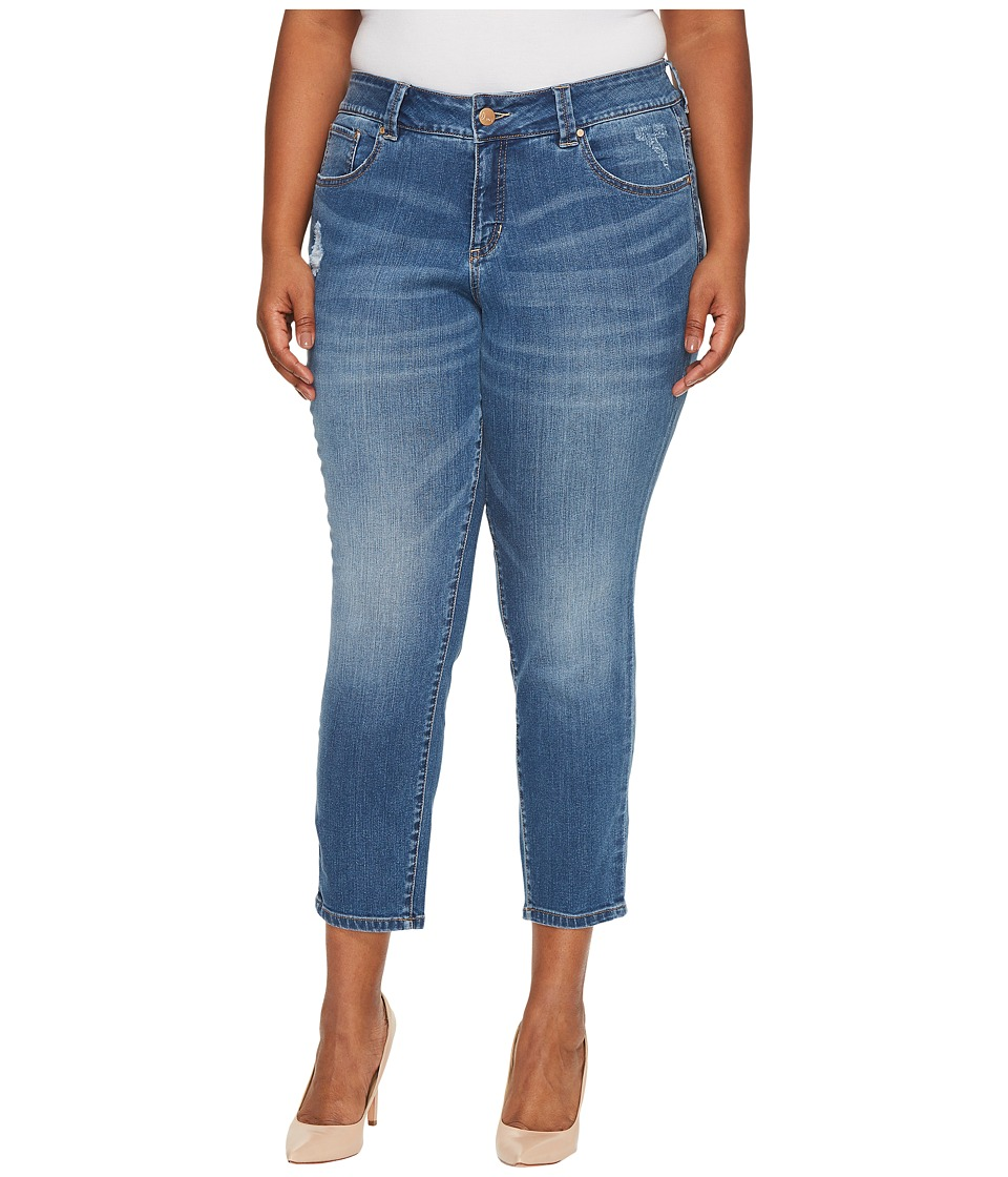 Jag Jeans Plus Size Plus Size Mera Skinny Ankle Platinum Denim in Mineral Wash (Mineral Wash) Women