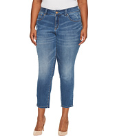 Jag Jeans Plus Size - Plus Size Mera Skinny Ankle Platinum Denim in Mineral Wash
